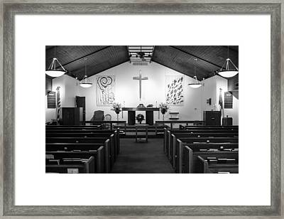 Framed Print featuring the photograph The Altar by Monte Stevens