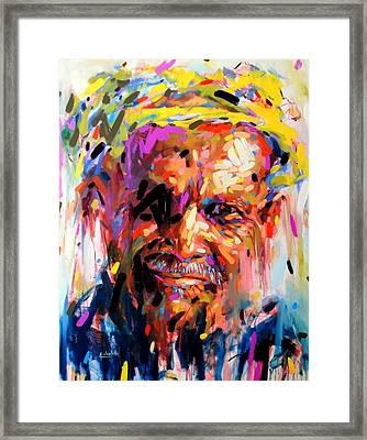 The Amazigh Man Framed Print