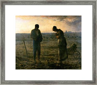 The Angelus Framed Print