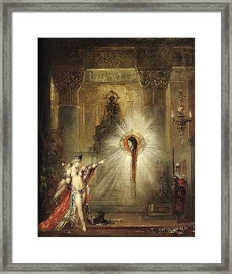The Apparition Framed Print