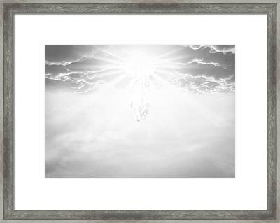The Ascension And Resurrection Framed Print by Allan Swart