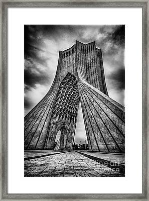 The Azadi Tower Framed Print