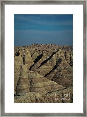 The Badlands Framed Print by Brent Parks