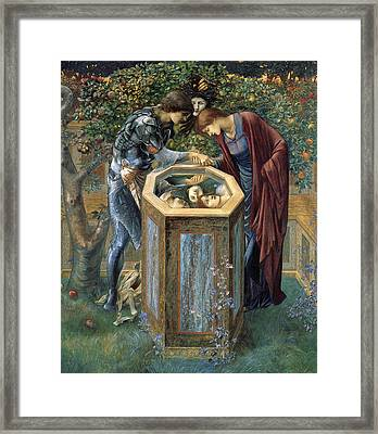 The Baleful Head Framed Print by Edward Burne-Jones