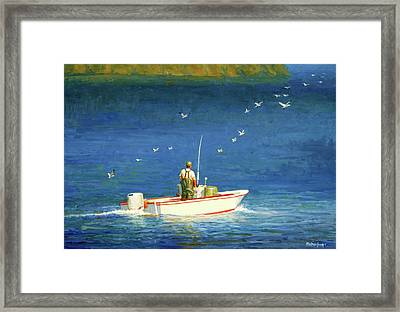 The Bayman Framed Print