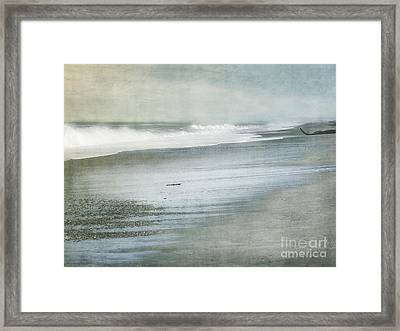 The Beach Framed Print by Linde Townsend