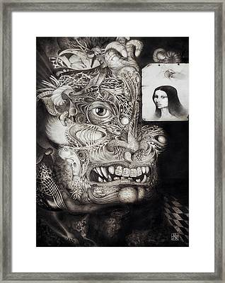 The Beast Of Babylon Framed Print