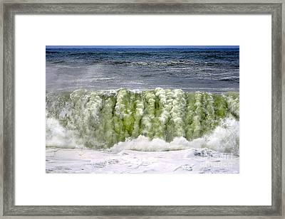 The Green Beast Framed Print