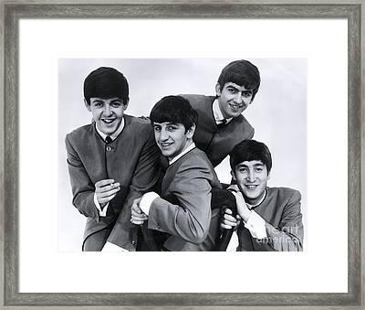 The Beatles - 1963 Framed Print