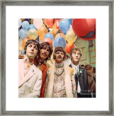 The Beatles Sgt. Pepper Release Party Framed Print by The Titanic Project
