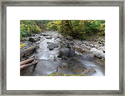 The Beauty Of A River Framed Print by Jeff Swan