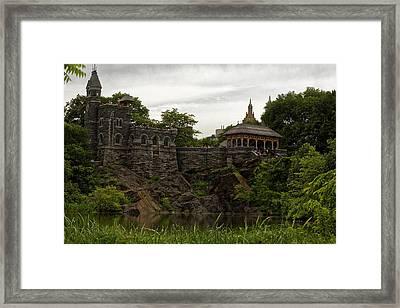 The Belvedere Castle Framed Print by M Nuri Shakoor