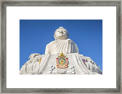 The Big Buddha Framed Print
