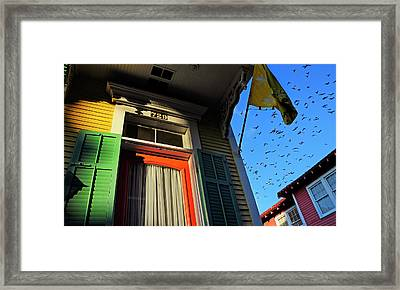 The Birds Framed Print by Skip Hunt
