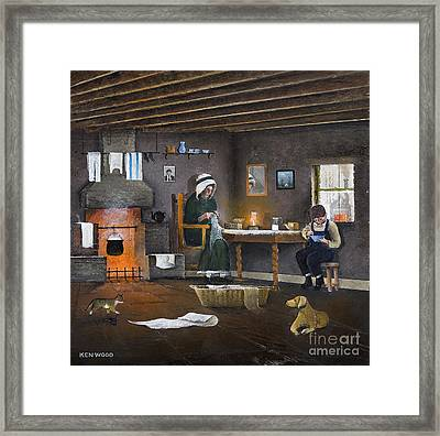 Nailers Dwelling - The Black Country Framed Print