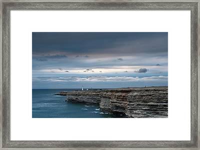 The Black Sea Crimea Framed Print by Anastasya Kondratyk