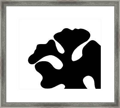 The Blob  Framed Print by Saad Hasnain