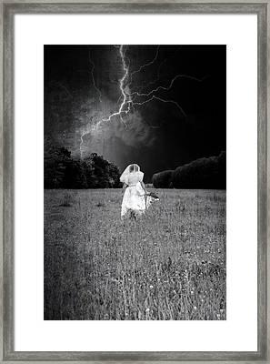 The Bride Framed Print by Joana Kruse