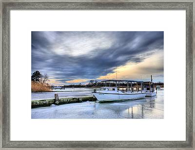 The Calm Before Framed Print by JC Findley