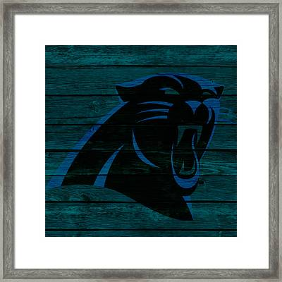 The Carolina Panthers 2a Framed Print by Brian Reaves