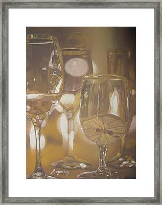 The Celebration Framed Print by Harvey Rogosin