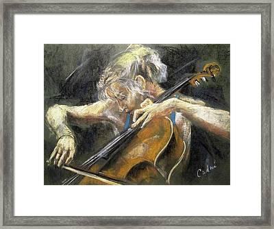 The Cellist Framed Print