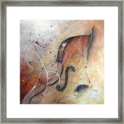 The Cello Framed Print by Germaine Fine Art