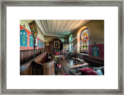 The Chapel Framed Print by Adrian Evans
