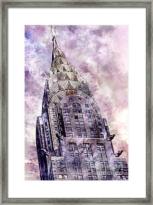 The Chrysler Building Framed Print by Jon Neidert