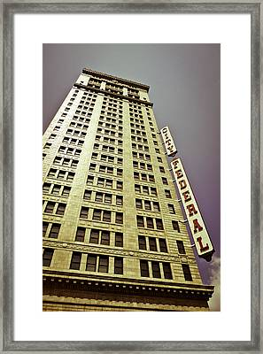 The City Federal Framed Print