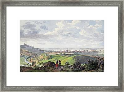 The City Of Arnberg In The Oberpfalz Framed Print
