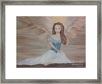 The Clearing After The Wind Dance Framed Print by Wendy Wunstell