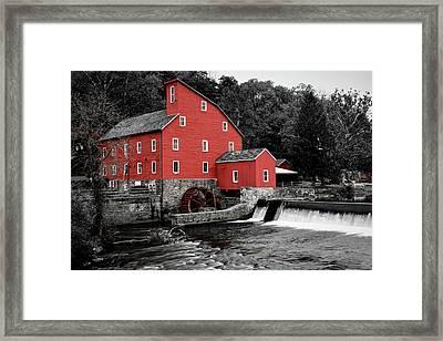 The Clinton Mill Framed Print