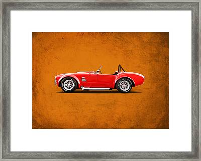 The Cobra Framed Print by Mark Rogan