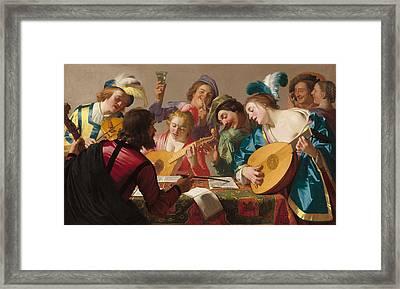 The Concert Framed Print