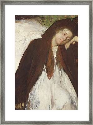 The Convalescent Framed Print by Edgar Degas