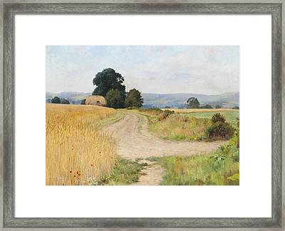 The Cornfield Framed Print