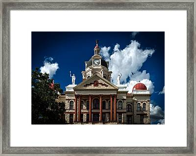 The Coryell County Courthouse Framed Print by Mountain Dreams