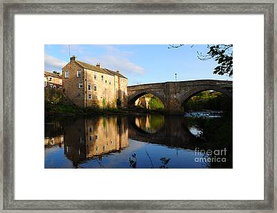 The County Bridge Framed Print