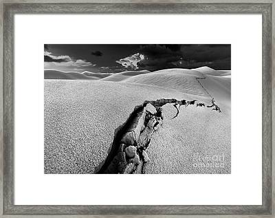 The Crack Of Dawn Framed Print by Julian Cook