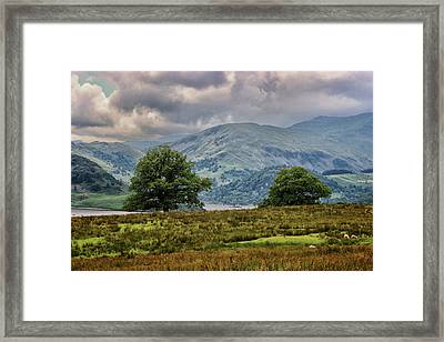 The Cumbrian Hills Framed Print by Martin Newman