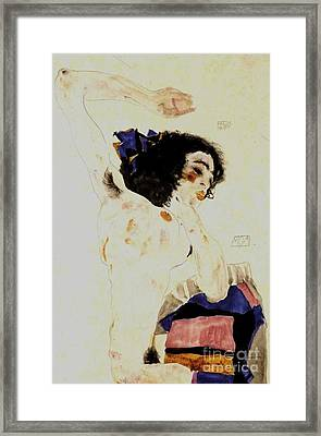 The Dancer Moa Framed Print