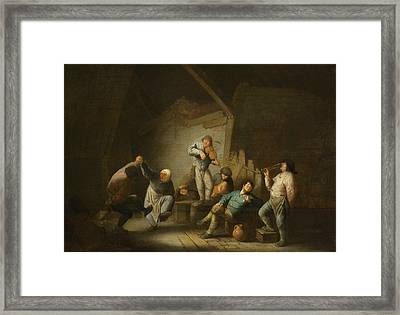 The Dancing Couple Framed Print