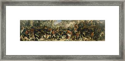 The Death Of Nelson Framed Print