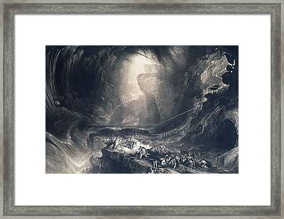 The Deluge Framed Print by John Martin