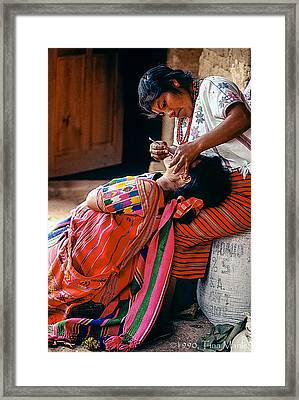 The Dentist Framed Print by Tina Manley