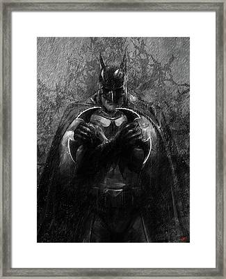 The Detective Framed Print by Steve Goad
