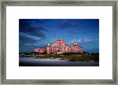 The Don Cesar Resort Framed Print