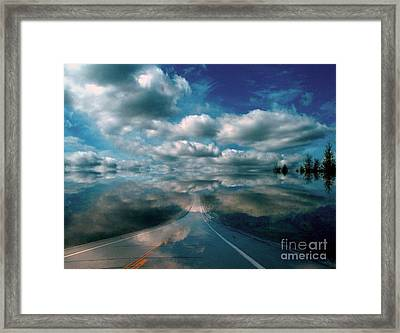 Framed Print featuring the photograph The Dream by Elfriede Fulda