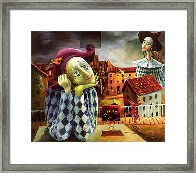 The Dreamer Framed Print by Igor Postash